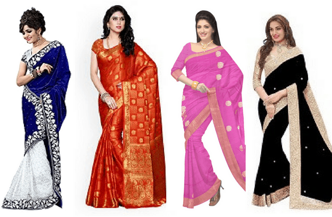 Types of saree material - Handloom saree weaving