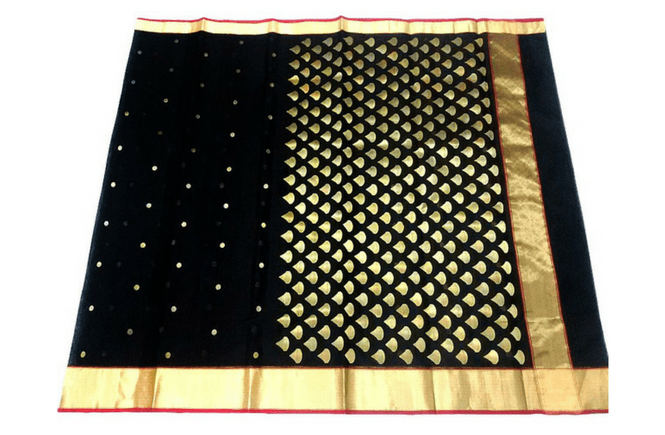 Saree measurements - Length of Saree and Pallu - Width and Length of Lace