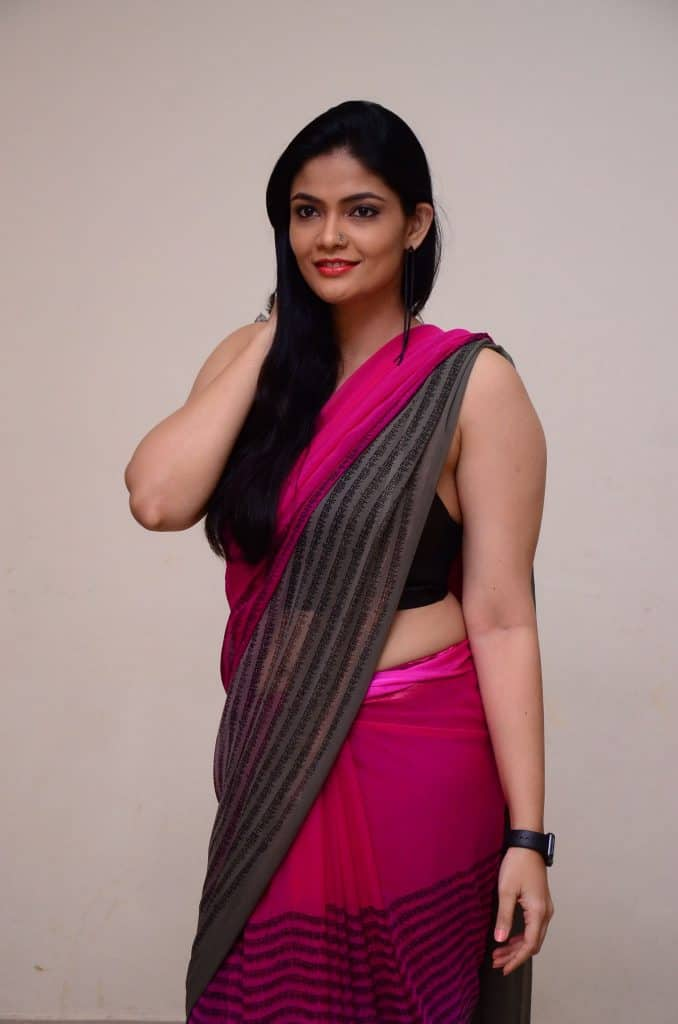 Kalpika Ganesh in Saree