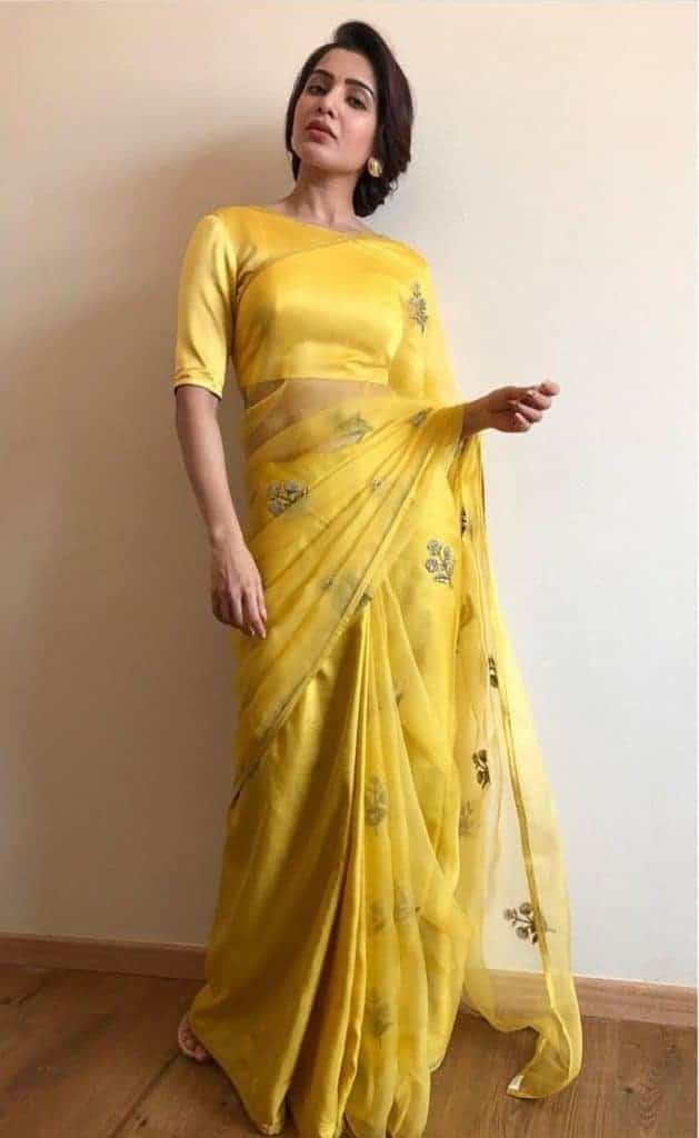 Samantha in saree -2