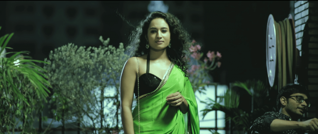 Sonakshi verma in Saree