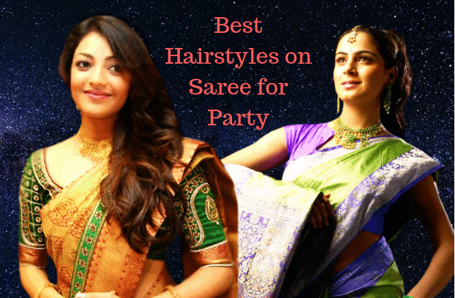 Top 10 Hairstyle on Saree for Party