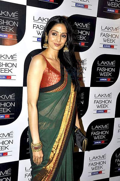sridevi in saree - 3