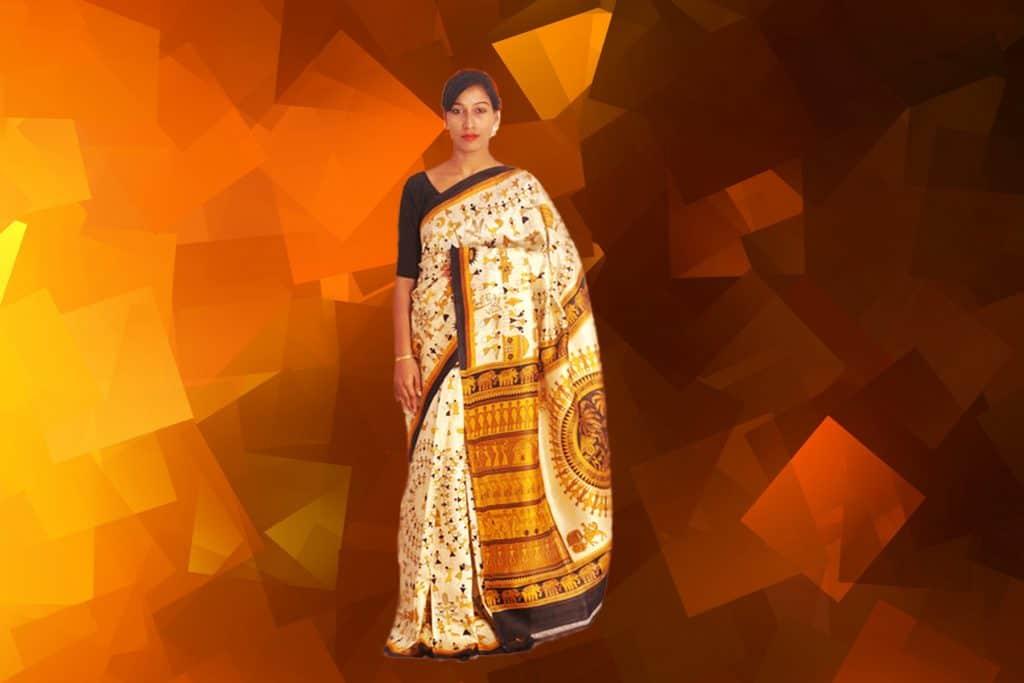 Madhubani silk sarees