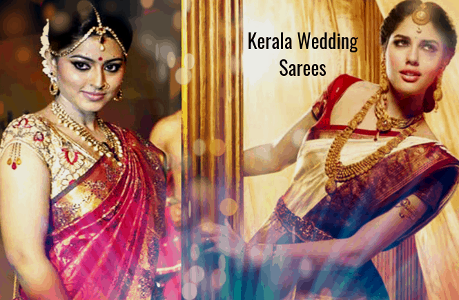 Kerala Wedding Sarees - Top 30 Kerala Saree designs for Wedding