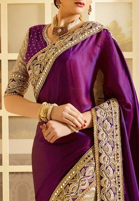 Maggam work blouse designs full hands