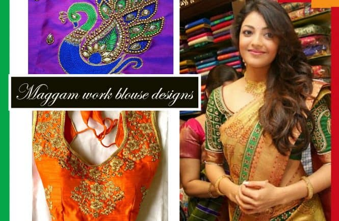 Maggam work blouse designs
