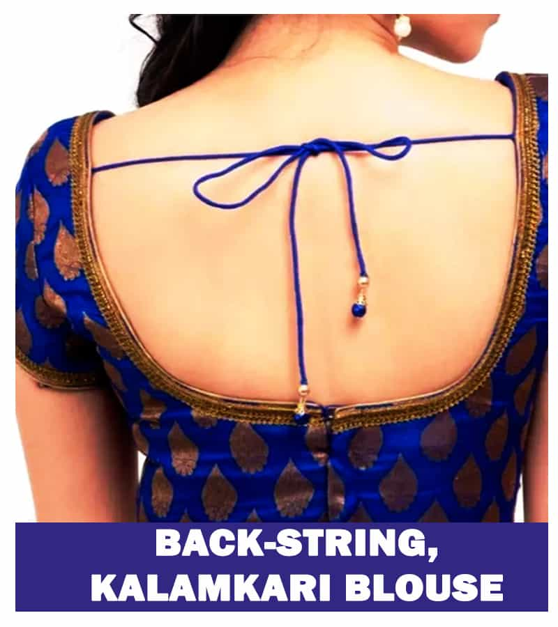 Back-string, Kalamkari blouse