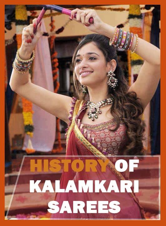 History of Kalamkari sarees