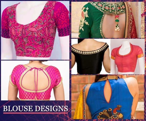 Sambalpuri Saree Blouse Designs