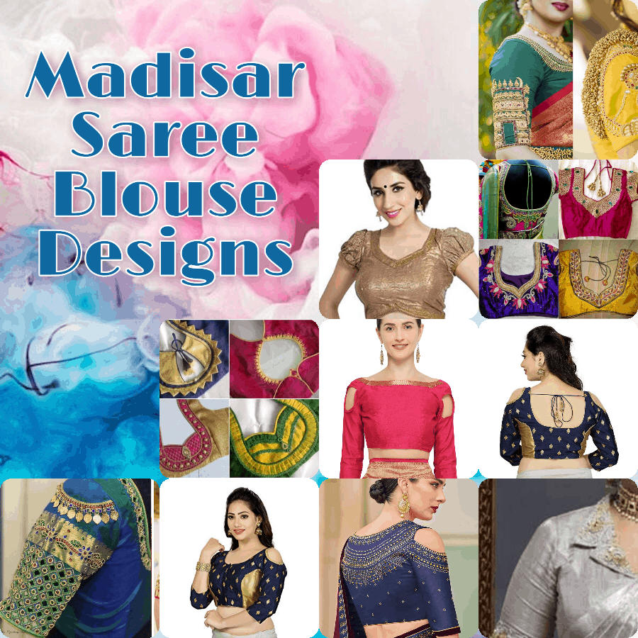 Madisar Saree Blouse design
