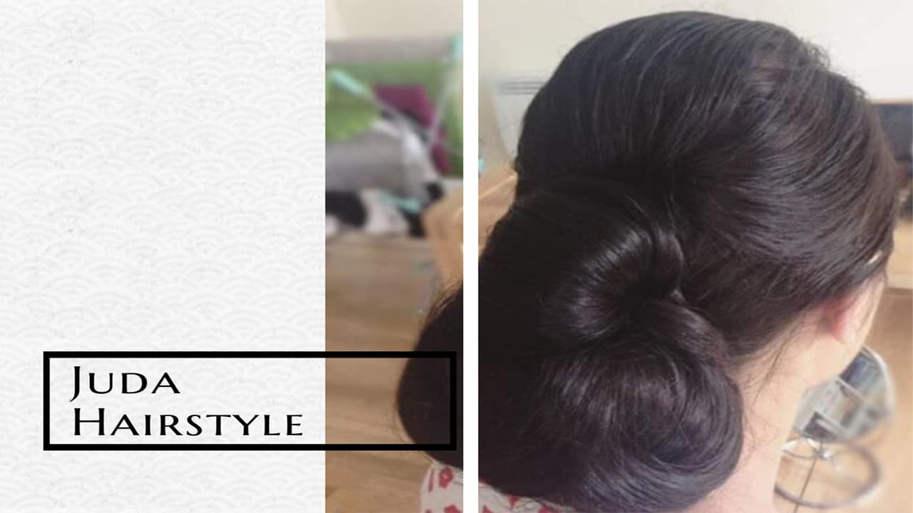 Juda Hairstyle Best Choice To Style Your Hair For Party And Wedding