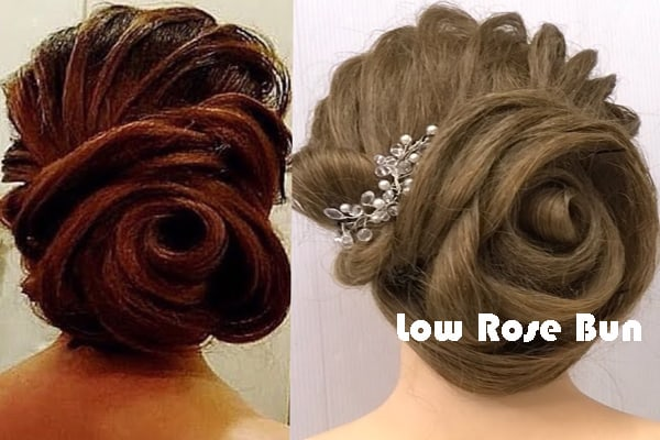Low Rose Bun