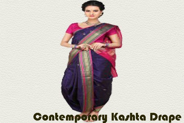 Contemporary Kashta Drape