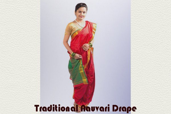 Traditional Nauvari Drape